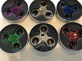 Fidget Spinner Gyro Effect Metallic