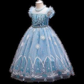 Elsa prinsess klänning