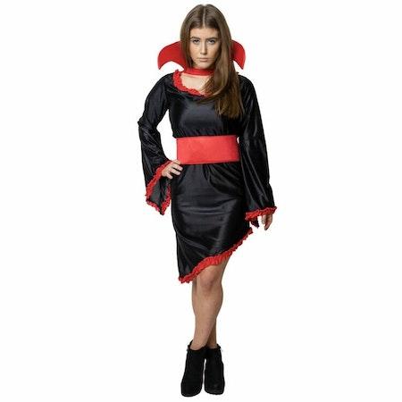 Vampyrklänning Maskeradkläder Halloween