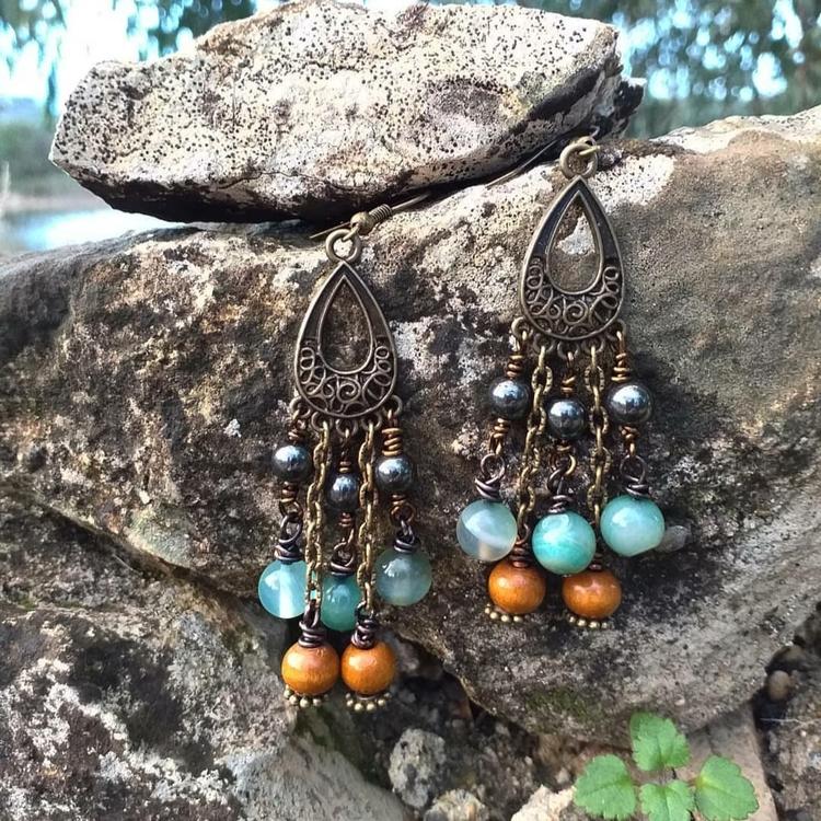 Jade örhängen