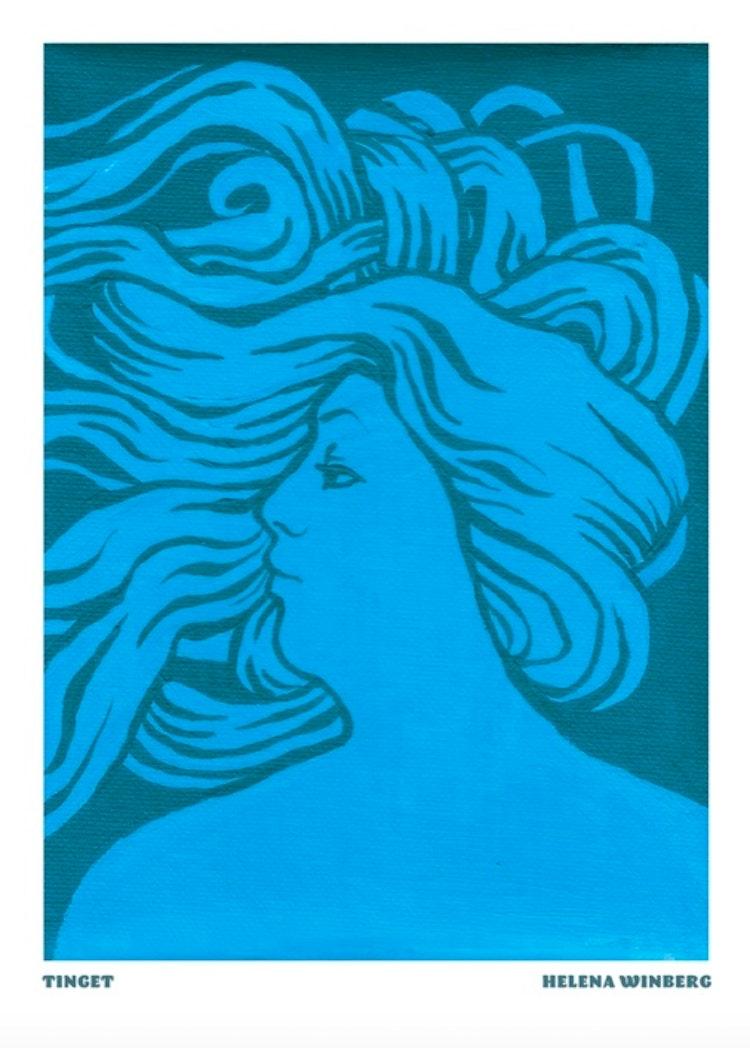 TINGET blå