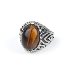Ring Owen Brown Stone