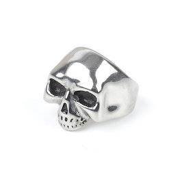 Skull Ring Liam Silver