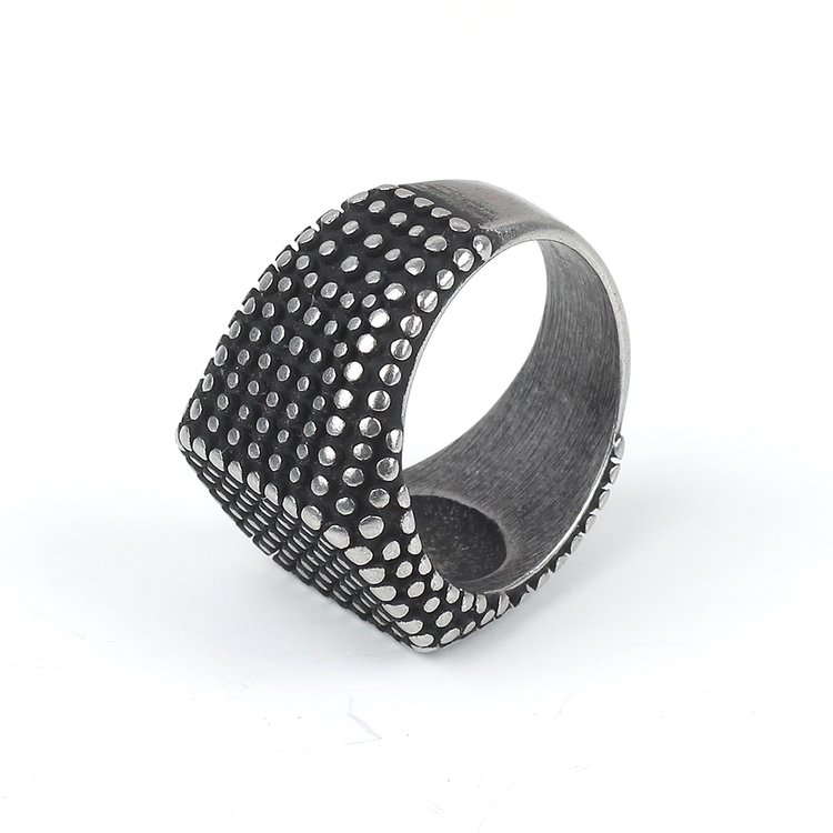 Dark Gray Aiden Ring Men