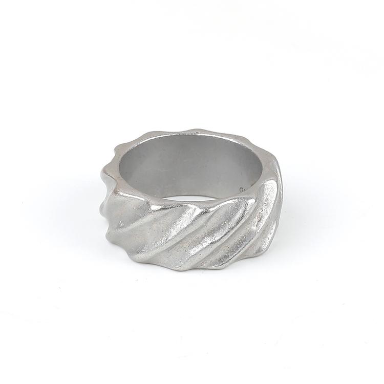 Ring Men Mark Silver