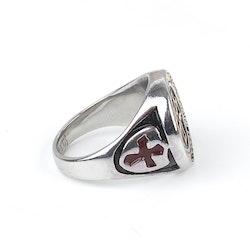 Klack Ring Mason Silver