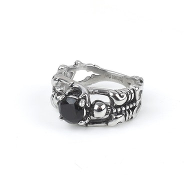 Stone Ring James Silver