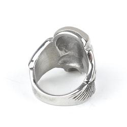 Skull Ring David Silver