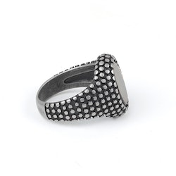 Dark Gray William Ring