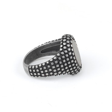 Dark Gray William Ring