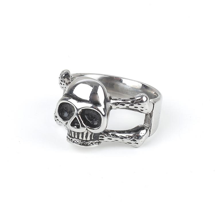Skull Ring Matthew Silver