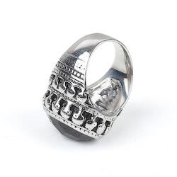 Big Bang Stone Ring Silver