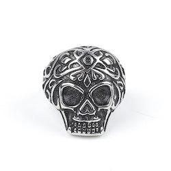 Skull Ring Noah Silver