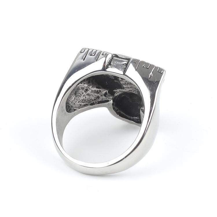 Ring Men Motor Silver
