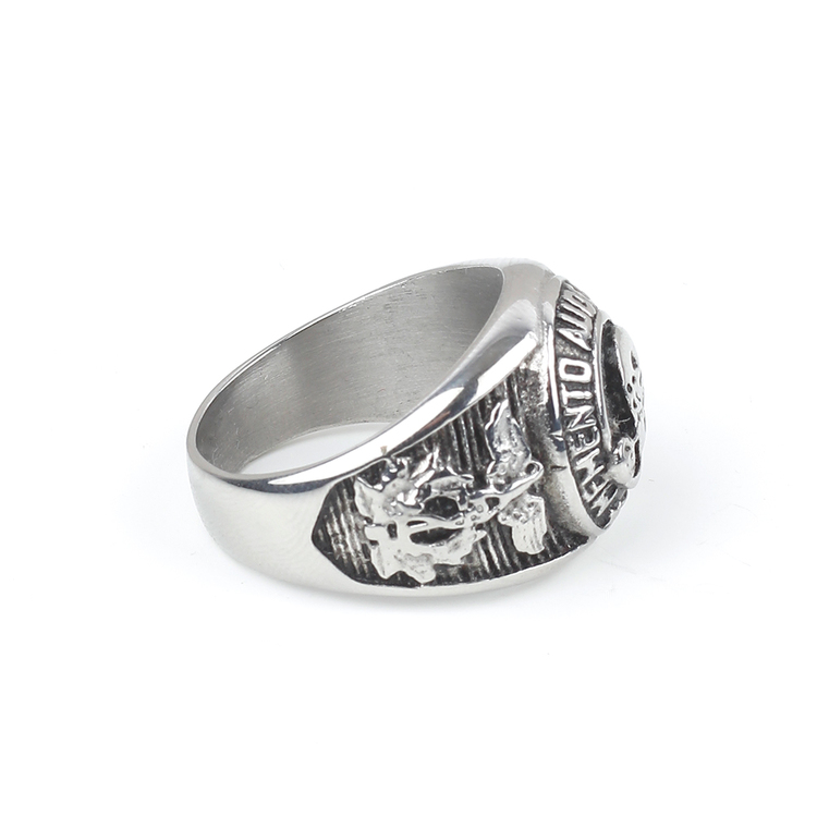 Ring Kingston Men Silver