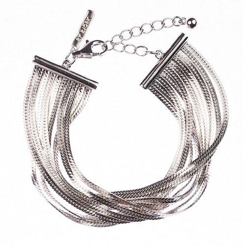 Armband med länkar i silver