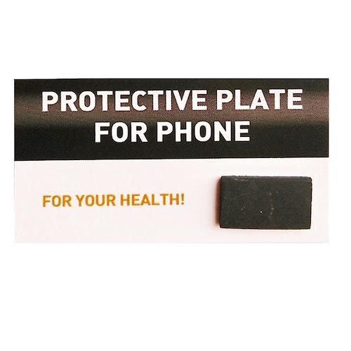 Skydd mot elektromagnetisk smog (EMS) rektangulär