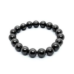 Shungit armband 10 mm pärlor