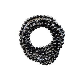 Elastiskt armband av Svart Turmalin