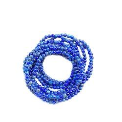Elastiskt armband av Lapis Lazuli