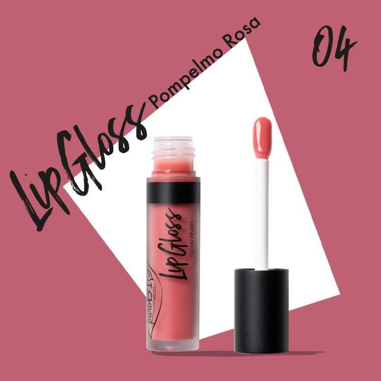 Lip Gloss 04 Pomegranate pink