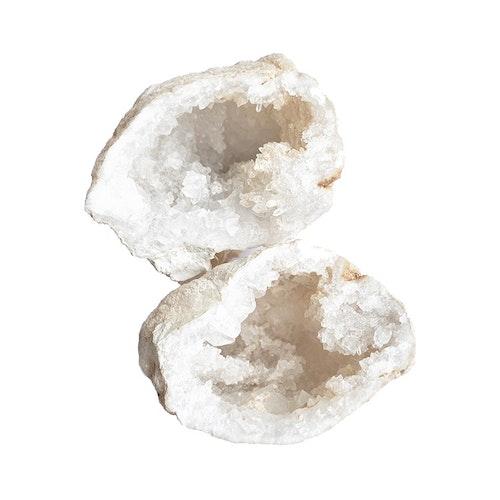 Bergkristall geod Mellan 7-9 cm