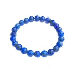 Lapis Lazuli armband 8 mm pärlor