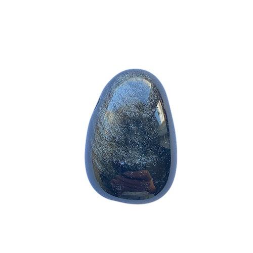 Obsidian silver hängsmycke AA
