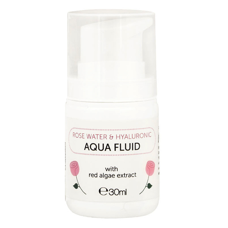 Rose Water & Hyaluronic Aqua Fluid 30ml