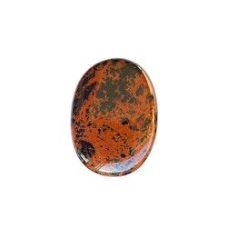 Obsidian mahagon handsten 4 cm A