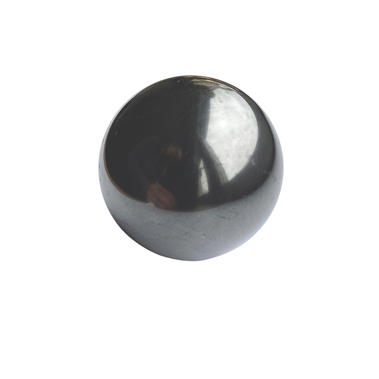 Shungitkula polerad 5 cm i metallställ