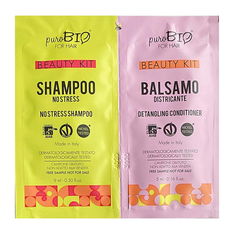 Provkit No Stress Shampoo och Balsam