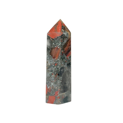Blodjaspis spets 9 cm
