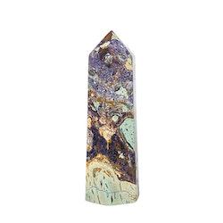 Lila Breccijaspis spets 8 cm