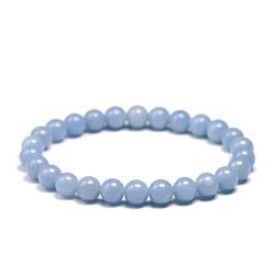 Angelit armband 8 mm pärlor