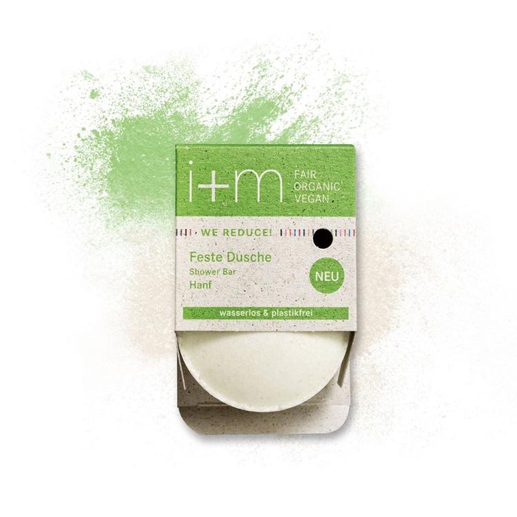 WE REDUCE Solid Shower Bar Hemp 50 gr