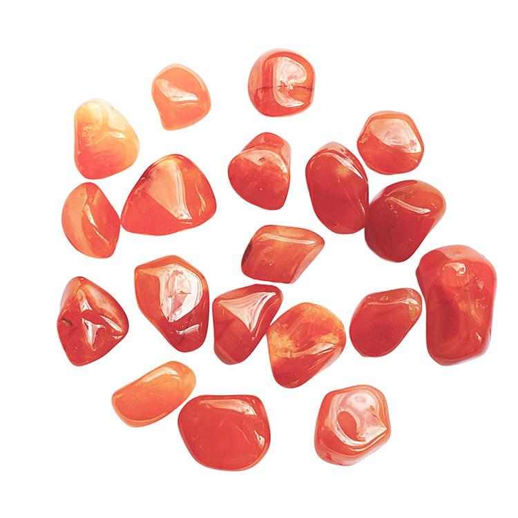 Karneol AA trumlade stenar 100 gr