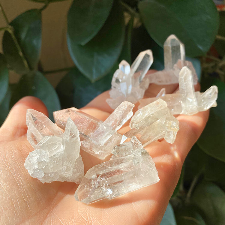 Bergkristall minikluster ca 20 gr