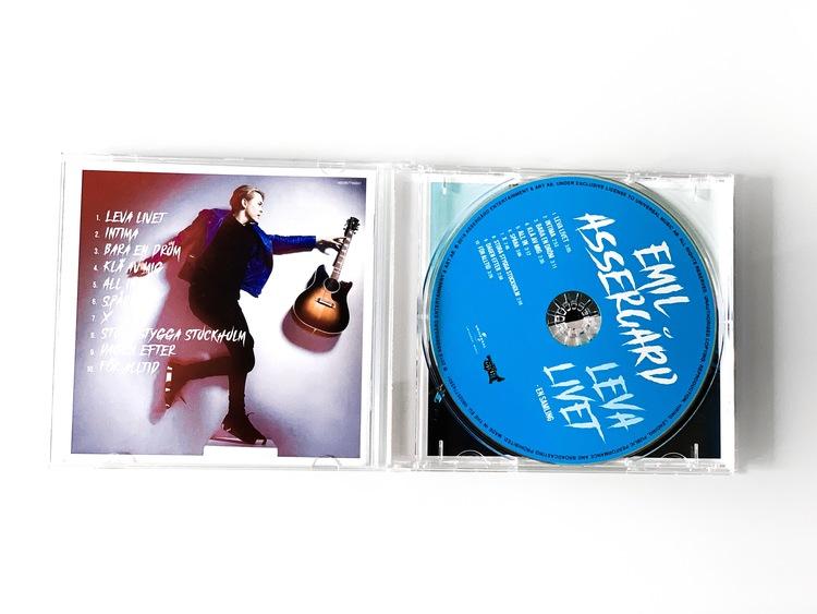 """CD """"Leva Livet"""" Signerad"""