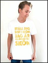 """T-Shirt """"Ställ dig sist - Summer edition 2020"""""""