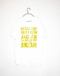 "T-Shirt ""Ställ dig sist - Summer edition 2020"" Second Hand"
