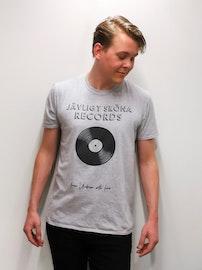 "T-Shirt ""Jävligt Sköna Records"""