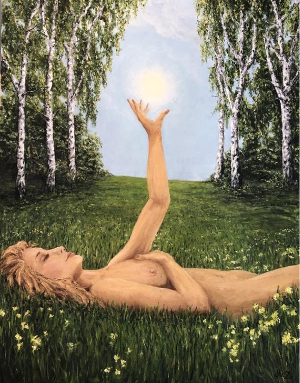 FINE ART - In love with nature (begränsad upplaga)