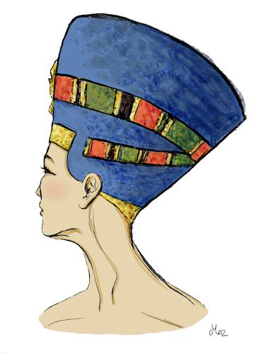 FINE ART - Nefertiti (begränsad upplaga)