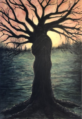FINE ART - Cuddling trees (begränsad upplaga)