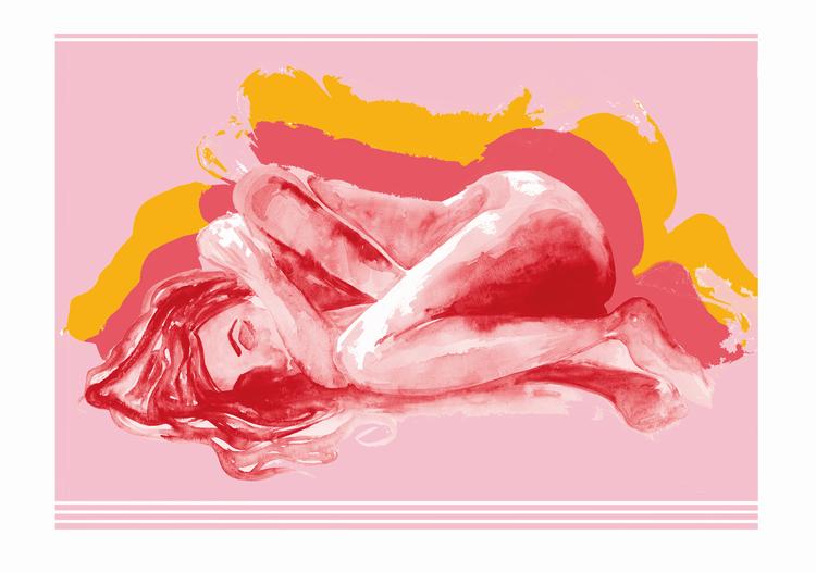 Sleeping Beauty in Colors FINE ART