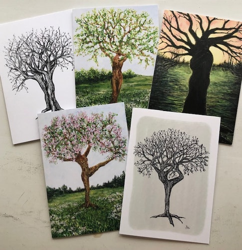 Levande träd