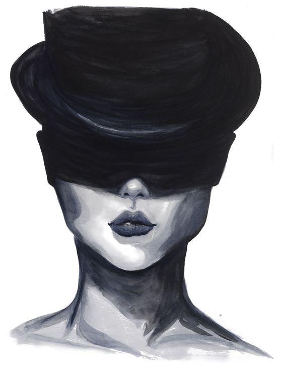 Dam med hatt - NY