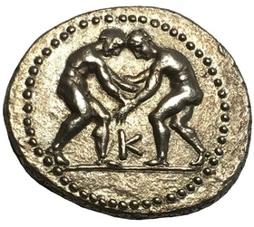 Antika Grekland, Pisidia Selge ca 325-250 f.Kr. Silverstater - EXCEPTIONELL KVALITET
