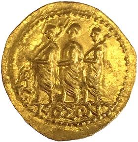 Romerska republiken, Brutus Guldstater ca 43-42 f.Kr - PRAKTEX - MINT STATE